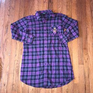 Lauren Ralph Lauren Flannel Pajama Size Small S